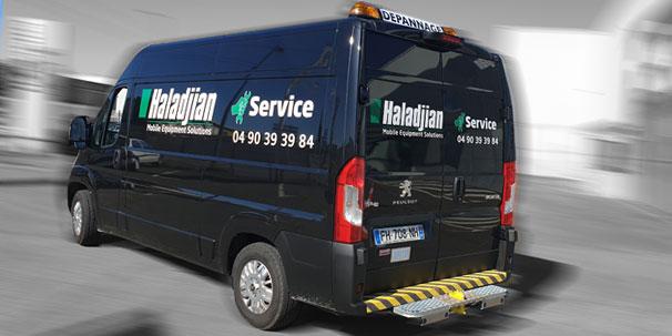 Service de maintenance et de réparation pour vos engins Caterpillar®, Komatsu®, Volvo®…