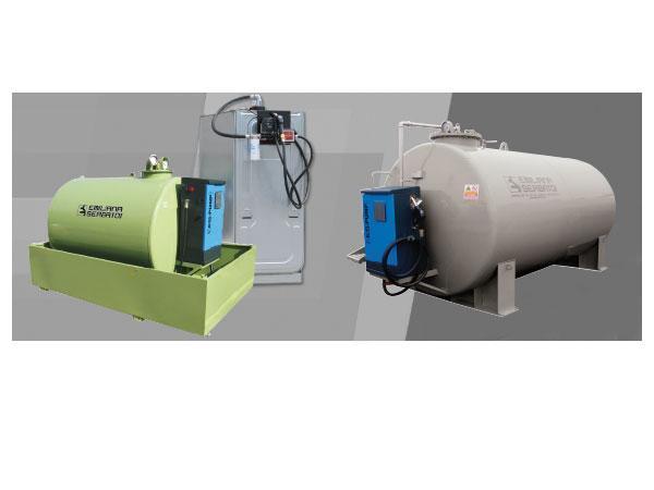 Cuves de stockage gasoil, GNR, fuel
