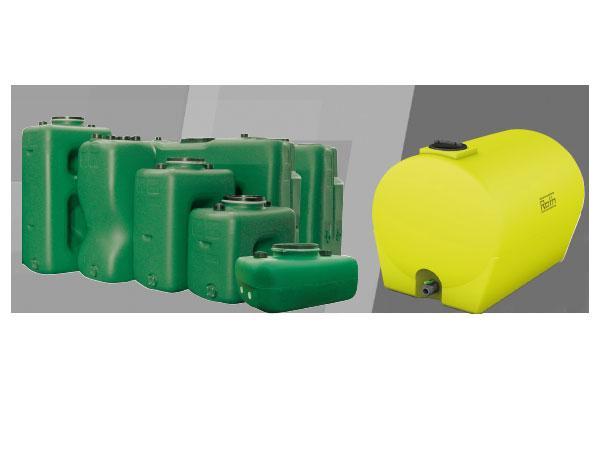 Cuves pour eau potable et chargée
